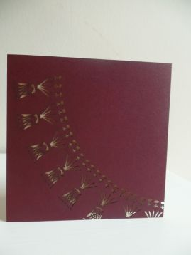Claret Crochet Collar Diagram Laser Cut