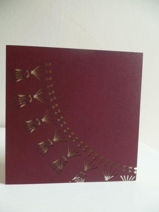 Claret Crochet Collar Diagram Laser Cut
